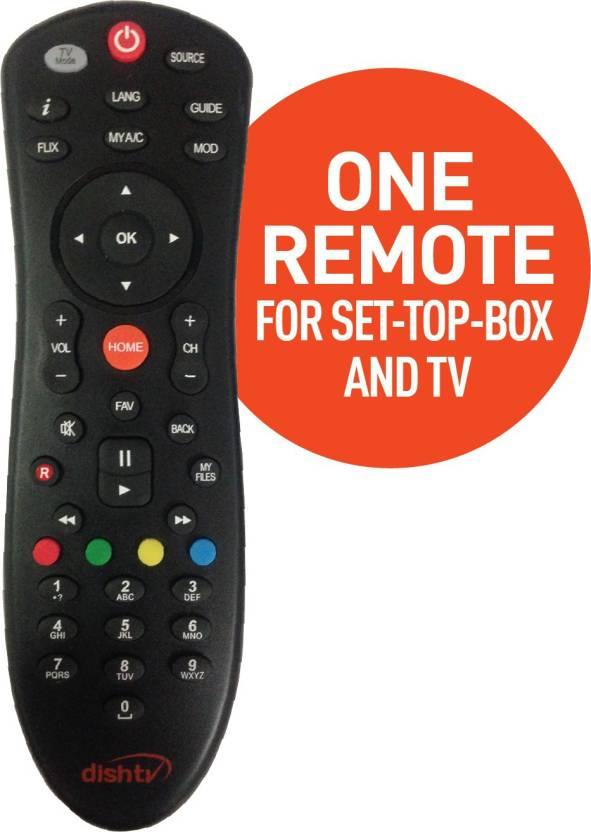Dish Tv universal remote
