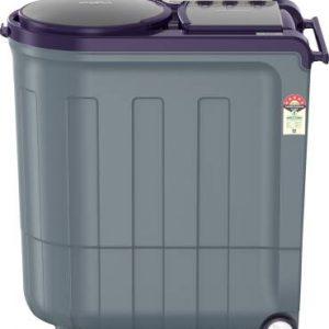 Whirlpool 8.5 kg 5 Star, Power Dry Technology Semi Automatic Top Load Grey, Purple