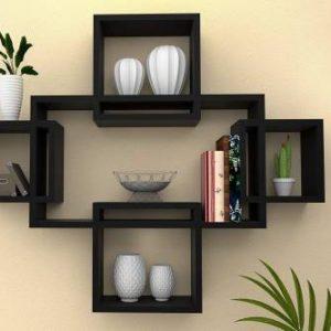 Amaze Shoppee MDF (Medium Density Fiber) Wall Shelf