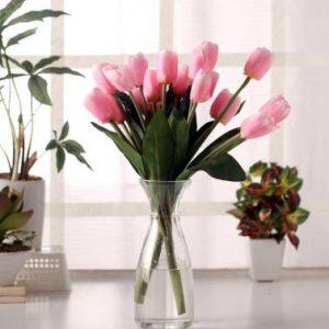 FOURWALLS Beautiful Artificial Tulip Bunch