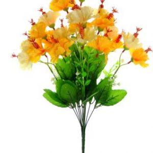 Fourwalls Decorative Artificial Hibiscus Flower