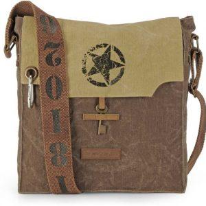 Brown, Beige Men & Women Messenger Bag
