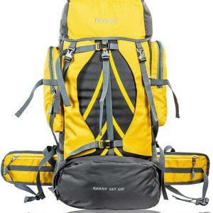 HK4-YELLOW-Trekking Bag Hiking Backpack Travel Rucksack - 60 L