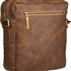 Brown Men & Women Sling Bag