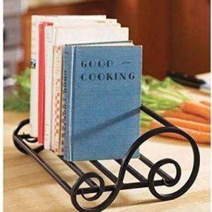 Artesia Iron Table Top Magazine Book Case Holder for Home